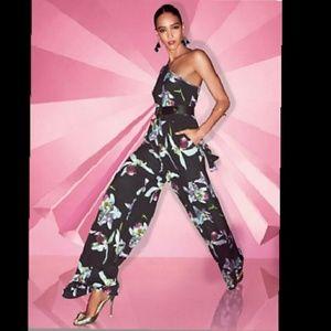 New York & Company Pants - New York & Co.  Orchid Jumpsuit XXL Plus